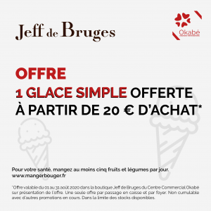 Offre Jeff de Bruges